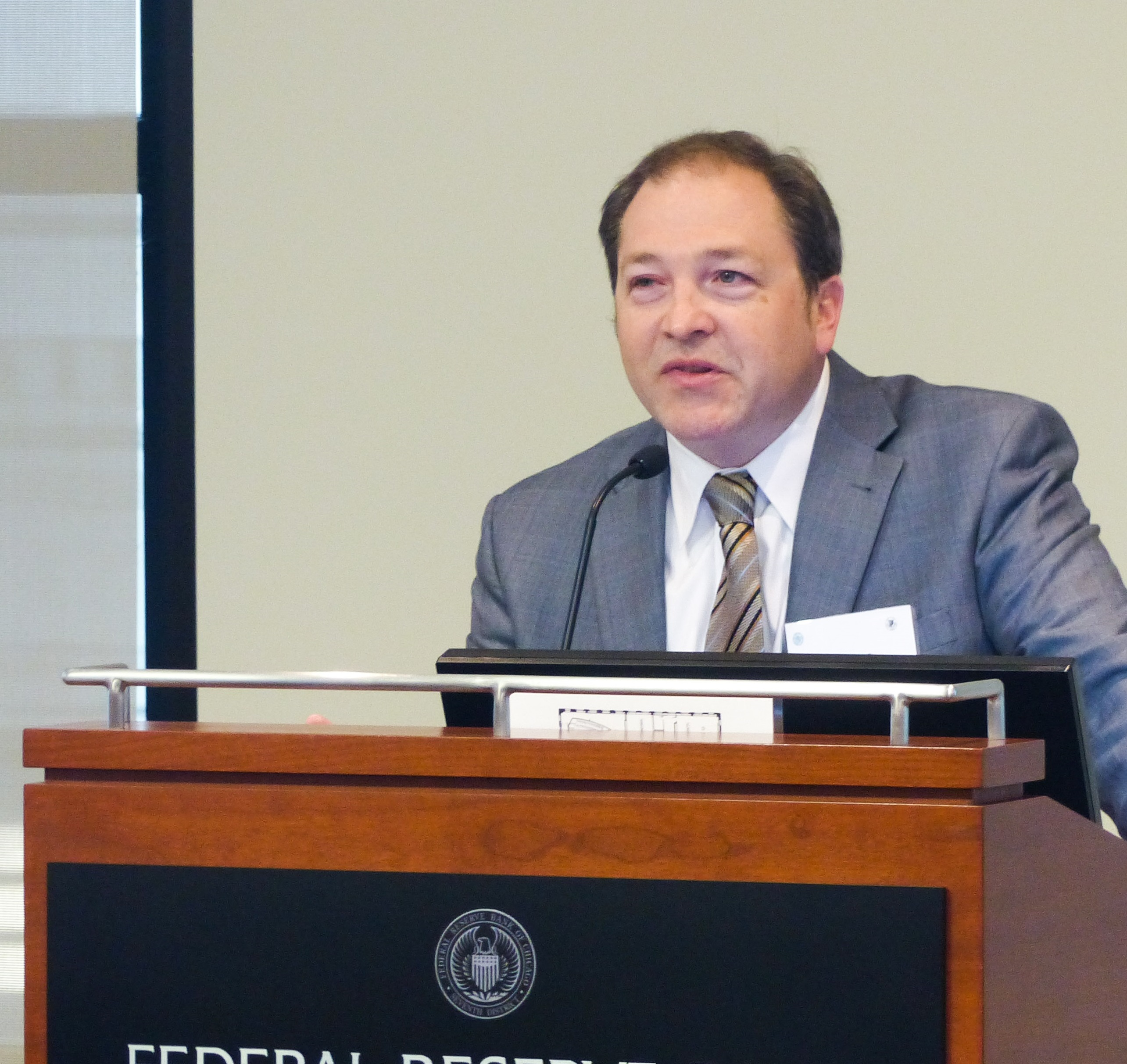 Eric Scorsone, Federal Reserve Bank of Chicago, Civic Federation