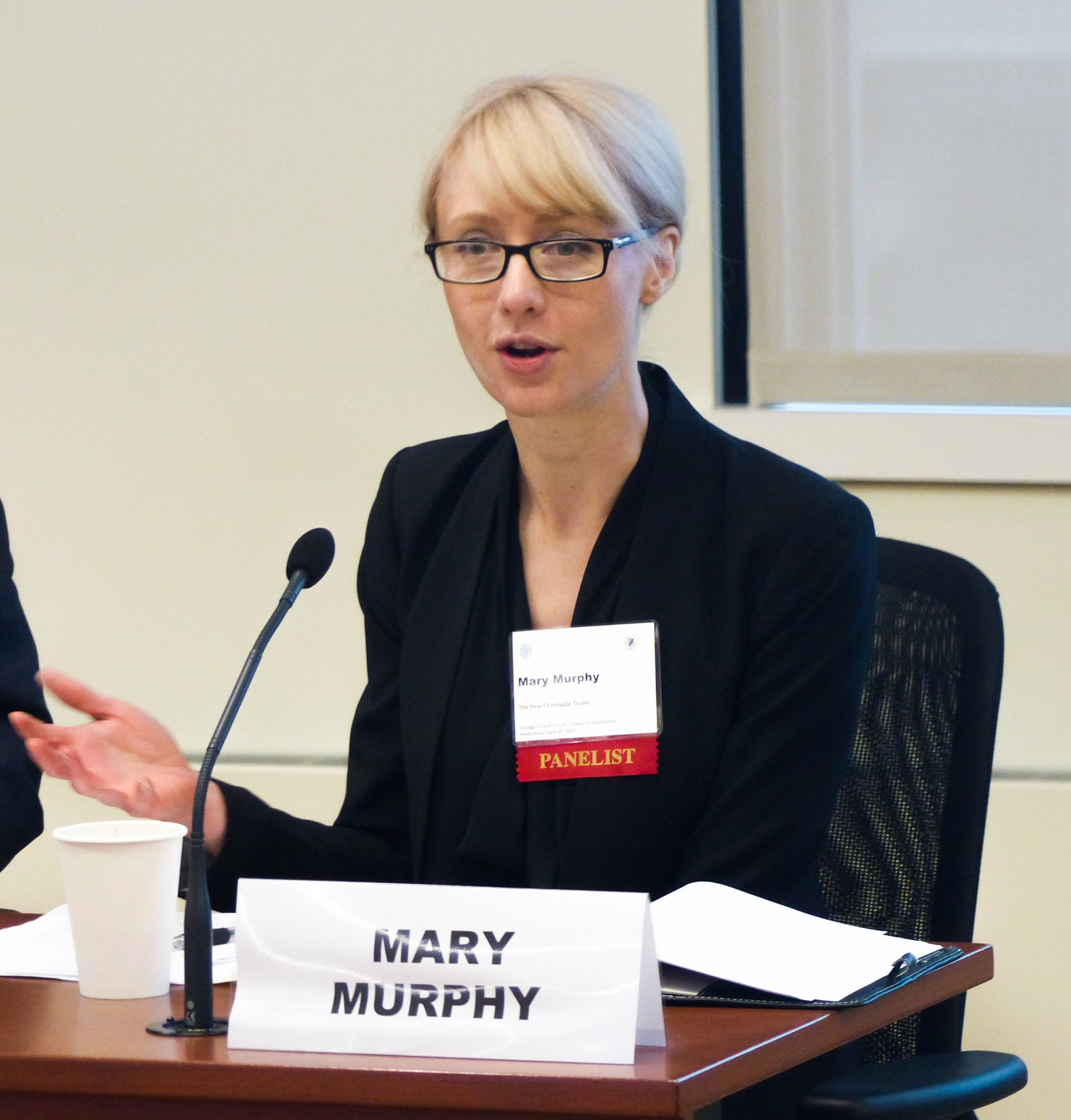 Mary Murphy, Federal Reserve Bank of Chicago, Civic Federation