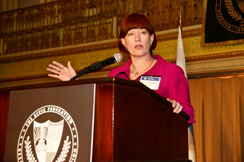 Heather Steans, Motorola Solutions Luncheon, Civic Federation