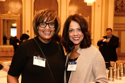 Gail Baker, Gloria Materre, Motorola Solutions Luncheon, Civic Federation